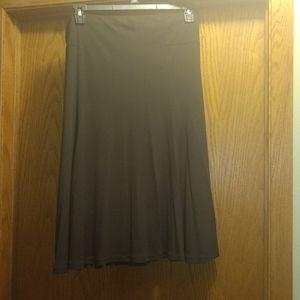 Liz Claiborne chocolate brown skirt
